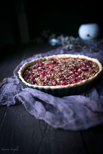 Cranberry-Pecan-Tart