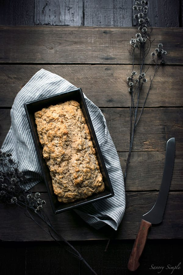 Spiced Pumpkin Beer Bread