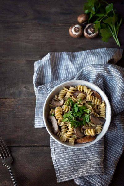 Mushroom Pasta Recipe