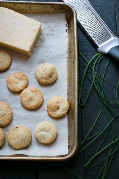 Savory-Simple-Recipe-Cheddar-Chive-Crackers