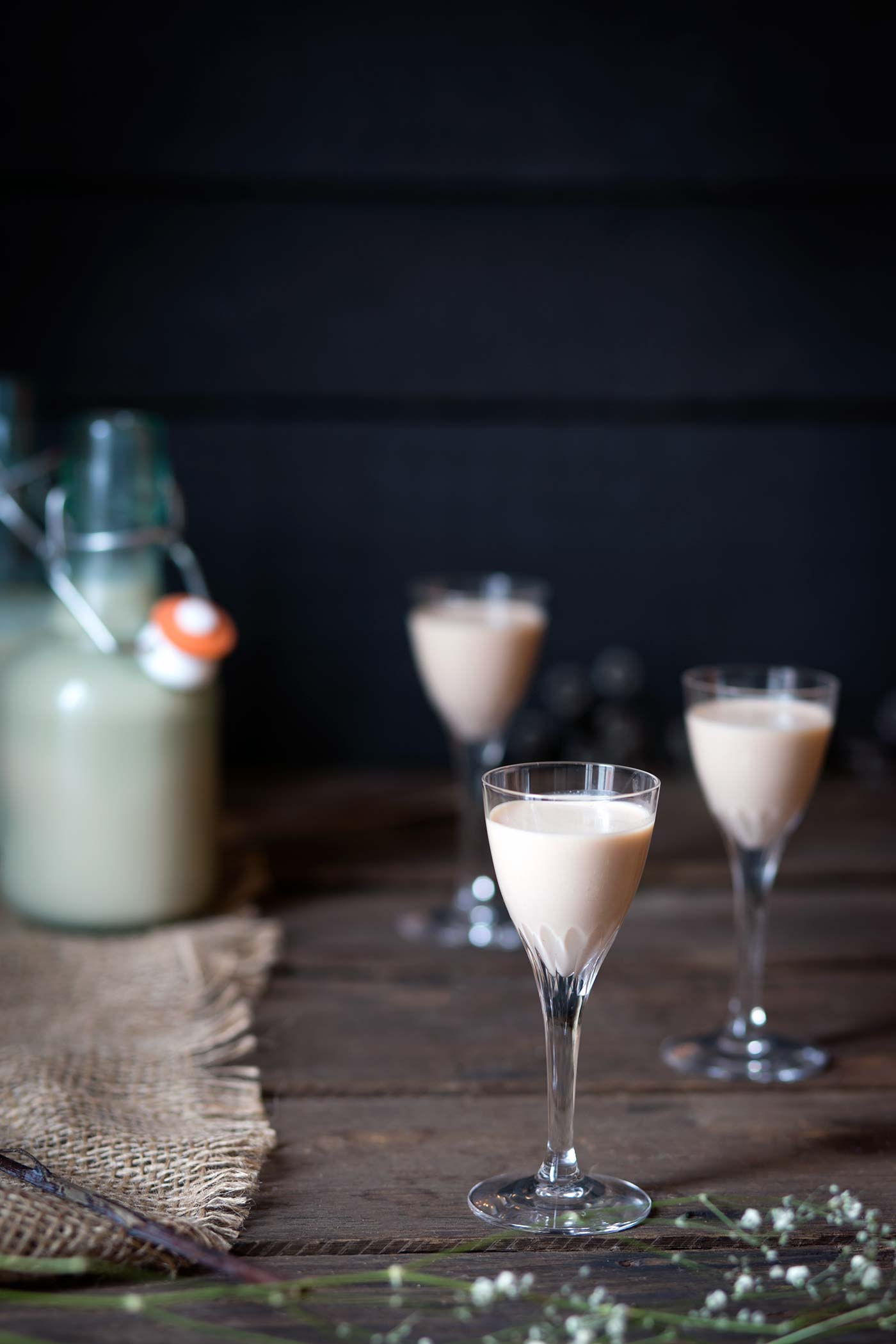 Love Bailey's Irish Cream? You need to try making it from scratch! Homemade Irish Cream is so easy and it tastes AMAZING. Get the recipe from SavorySimple.net.