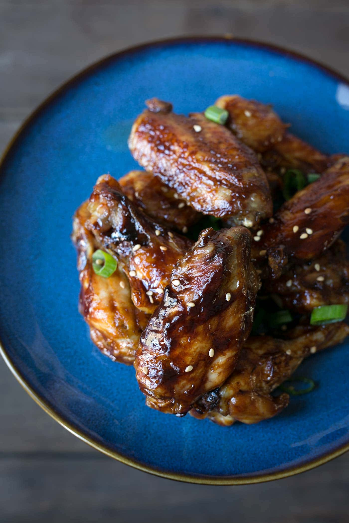 Sticky Sesame Hoisin Chicken Wings