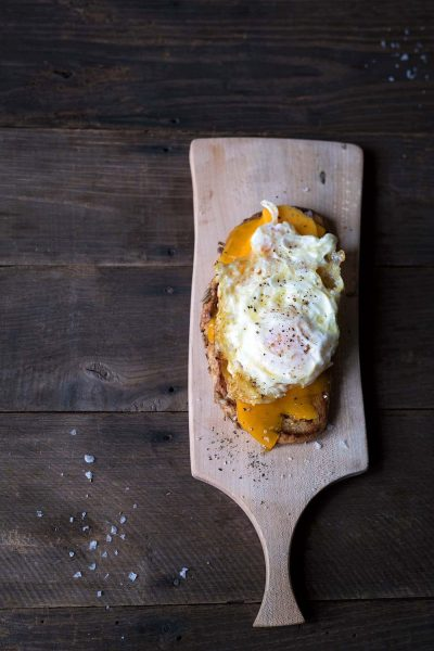 Savory-Simple-Recipe-Open-Faced-Grilled-Cheese