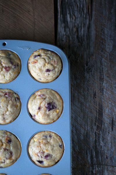 Savory-Simple-Recipe-Stone-Fruit-Yogurt-Muffins