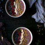 This Acai Berry Smoothie Bowl is a healthy, filling breakfast that will improve any morning. SavorySimple.net.