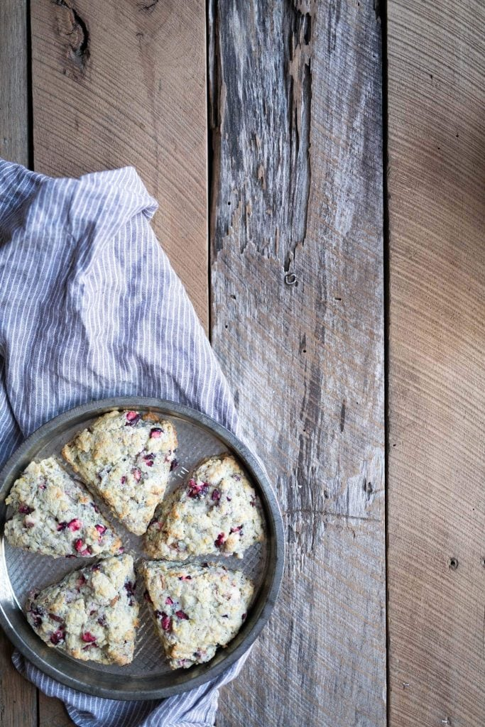 These Cranberry Goat Cheese Scones are soft, decadent, and perfect for brunch (or anytime, really!) Get the recipe from Savory Simple.
