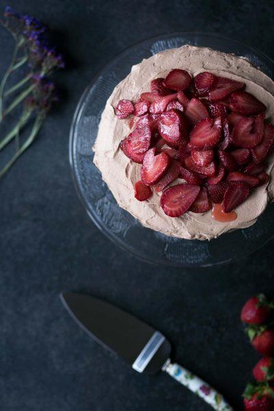 Savory-Simple-Recipe-Chocolate-Strawberry-Cake