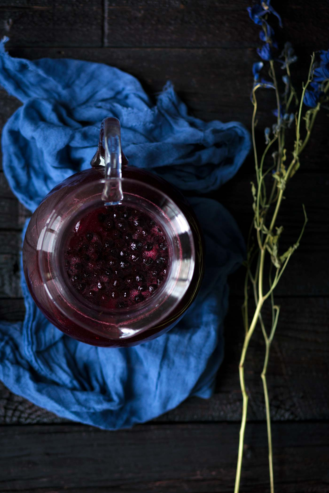 This Wild Blueberry Lemon Spritzer is a healthy, refreshing drink that comes together quickly and is perfect for entertaining. Get the recipe from Savory Simple.