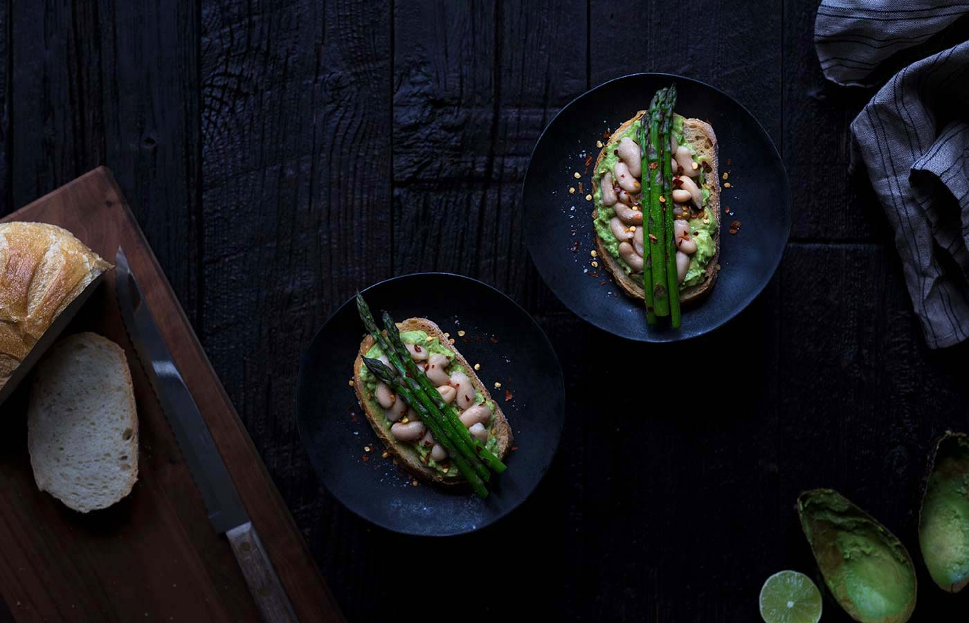 Avocado Toast with Asparagus and White Beans works as both a healthy breakfast or lunch option, and it comes together very quickly! What more can you ask for? Get the recipe from Savory Simple.