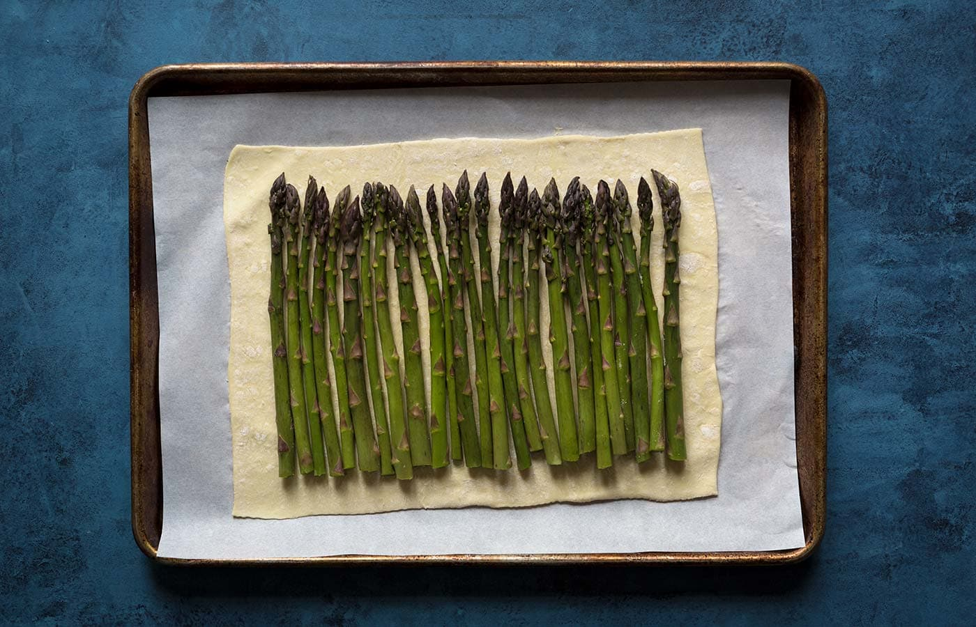 This asparagus egg tart comes together quickly with a few simple ingredients, and is perfect for spring and summer gatherings! Get the recipe from Savory Simple.