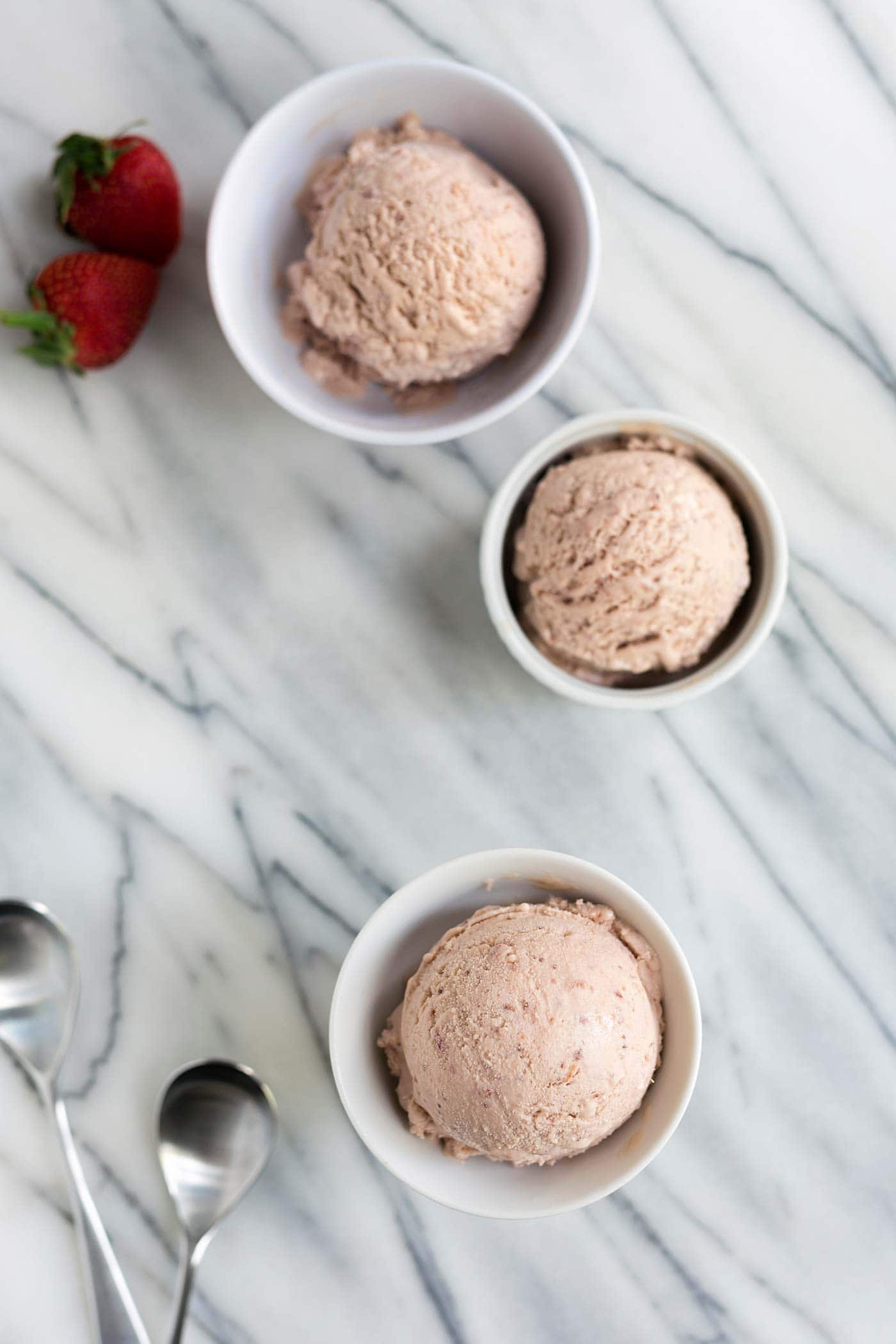If you love homemade ice cream, you need to try this Roasted Strawberries and Clotted Cream Ice Cream. Get the recipe from Savory Simple!