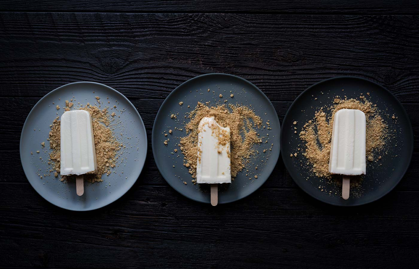 A photo of key lime popsicles