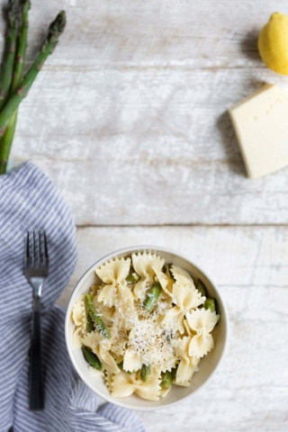 Pasta Salad with Asparagus