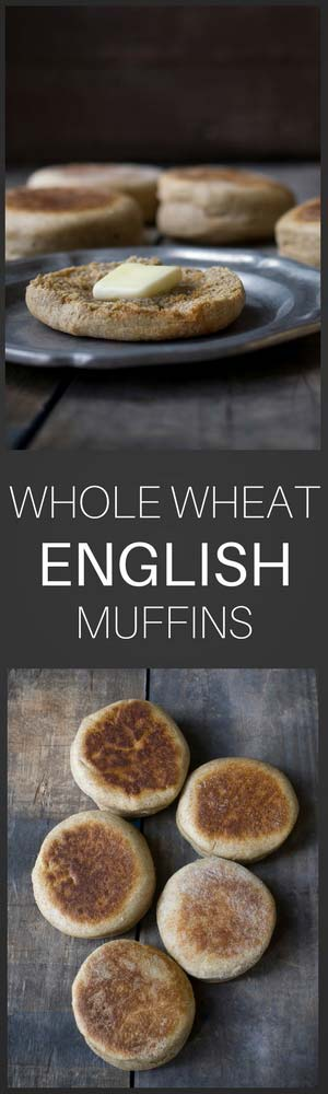 Love the smell of homemade bread? These whole wheat english muffins are a fabulous breakfast or lunch option. Homemade english muffins have much more flavor than anything you'll buy at the store, as well as a satisfying, crunchy exterior.