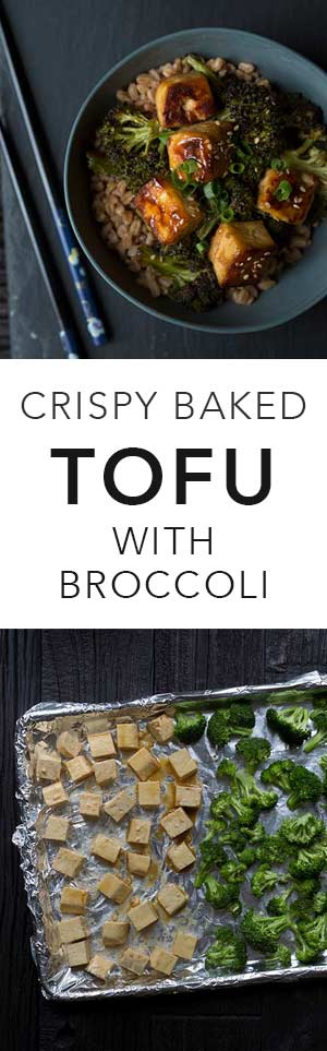 Crispy Baked Tofu with Broccoli is a wonderful vegan meal that can easily be made gluten-free! Get the recipe from Savory Simple.