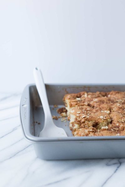 This Sour Cream Coffee Cake is incredibly soft and moist! It comes together in no time. Get the recipe from Savory Simple.