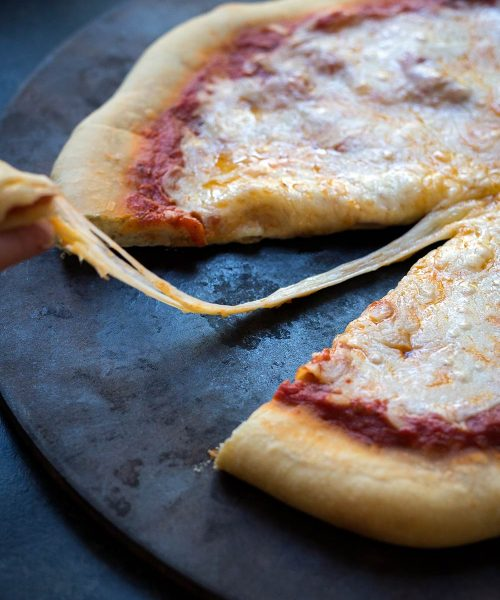 Sometimes on a busy weeknight, there's just nothing quite like throwing a frozen pizza in the oven. Did you know it's easy to make your own? Learn how on SavorySimple.net