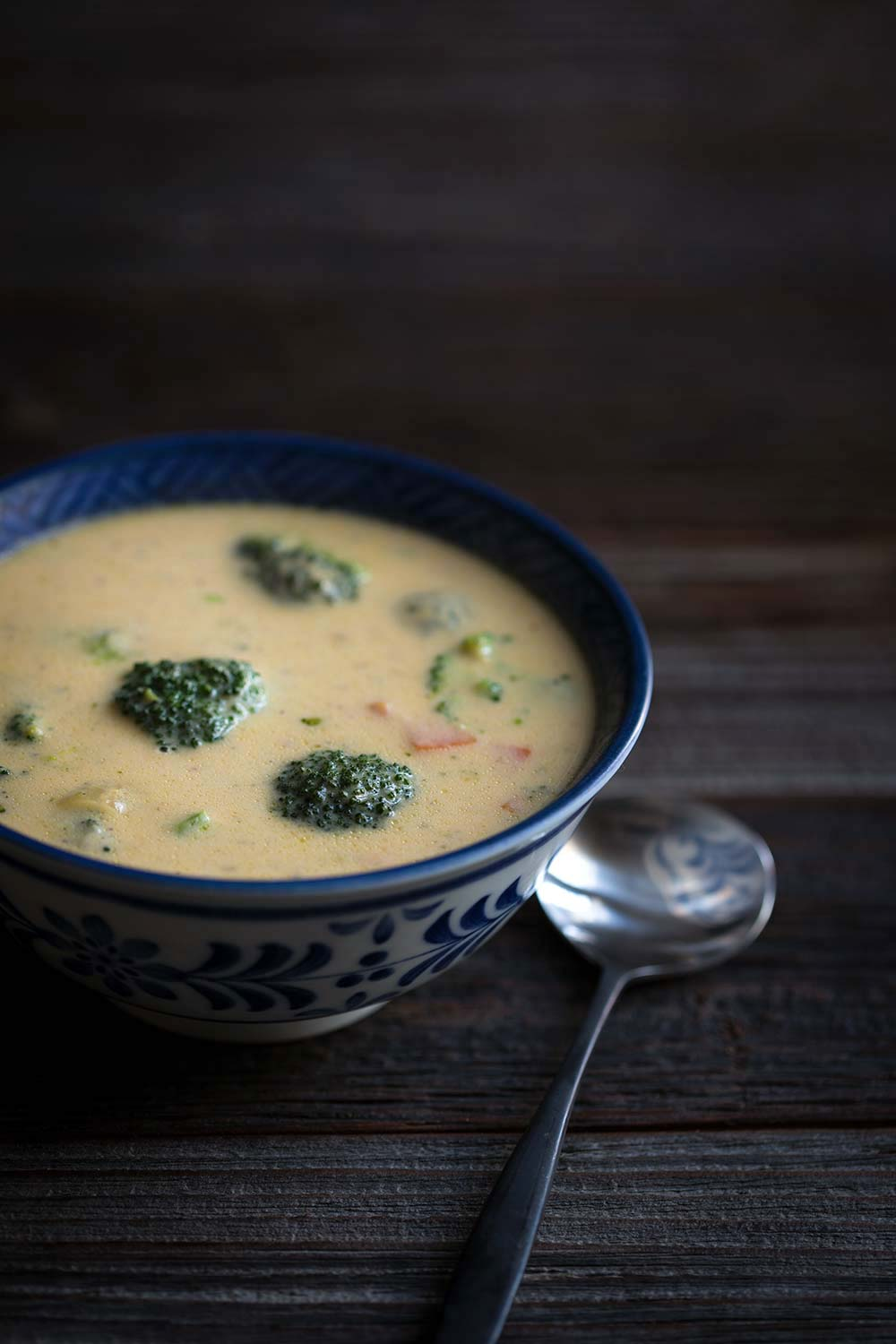 Broccoli Cheese Soup Recipe Restaurant Style Savory Simple