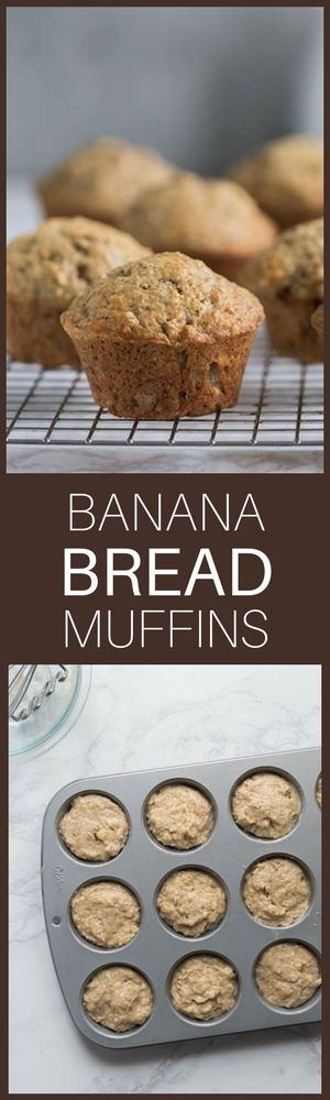 """If you love banana bread, don't miss these fabulous banana bread muffins!"