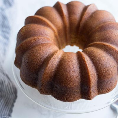 A Caribbean Rum Cake that is perfect for celebrating the holidays!