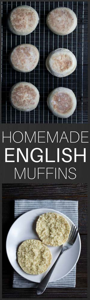 These Homemade English Muffins are a favorite around here! With just a few simple ingredients, they're a great bread recipe for beginners. They freeze well, so you can always have some ready to go!