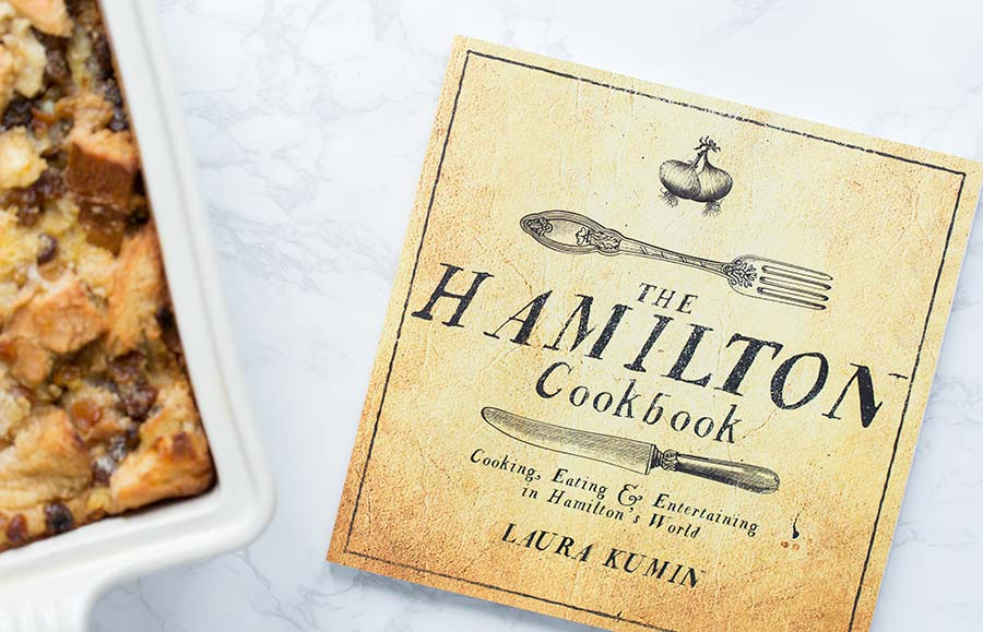 A photo of The Hamilton Cookbook, by Laura Kumin