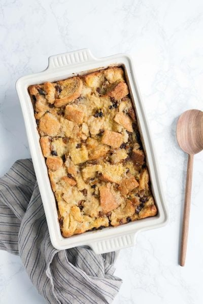The best bread pudding recipe!