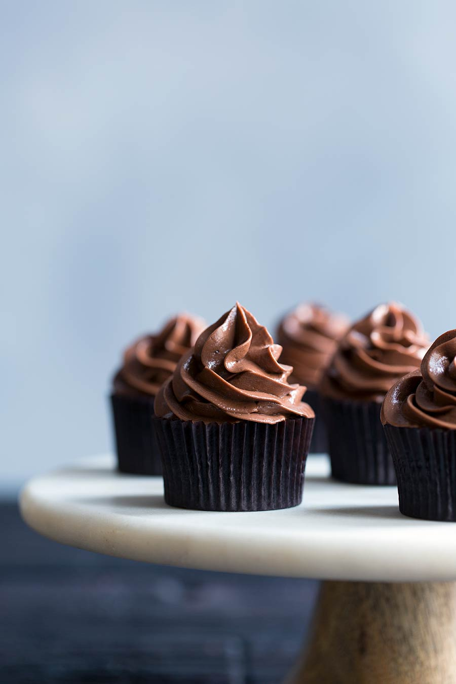 Dark Chocolate Cupcakes With Chocolate Buttercream Savory Simple