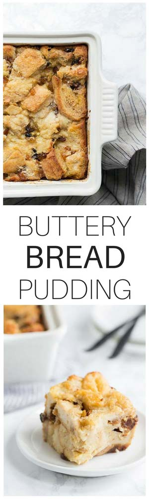 This simple bread pudding recipe is a class dessert that you don't want to miss. It's prepared using kitchen staples like eggs, bread, cream and butter. It comes together in no time and is excellent for parties!