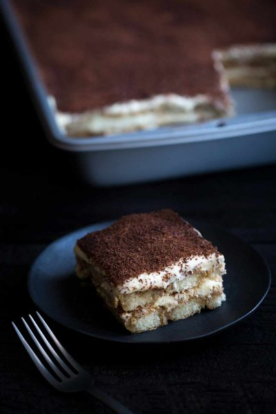 An Authentic Tiramisu Recipe