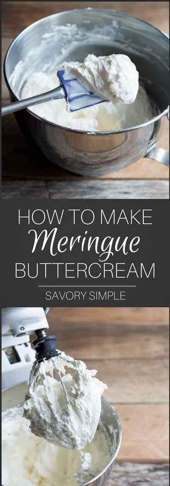 Italian Meringue Buttercream refers to a type of frosting made from sugar, egg whites, and butter. It's light, fluffy, and never cloying. This recipe includes options for vanilla, chocolate or strawberry buttercream. Once you know this basic buttercream recipe, the flavor possibilities are endless!