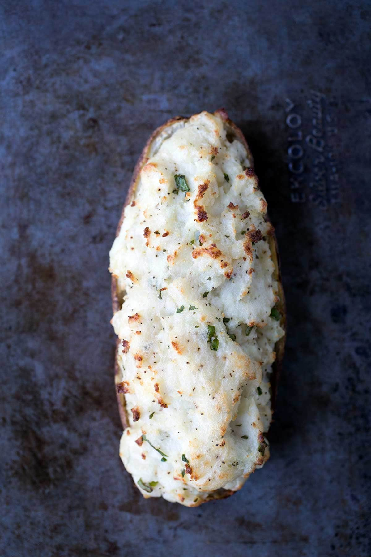 Twice Baked Potatoes Recipe Sour Cream Amp Onion Savory