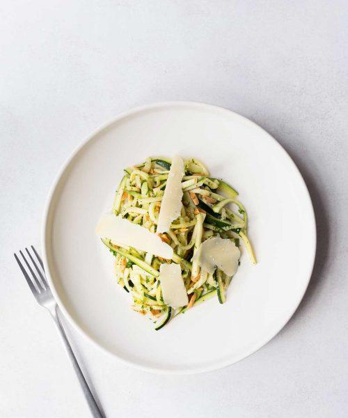 Spring Zucchini Salad Recipe