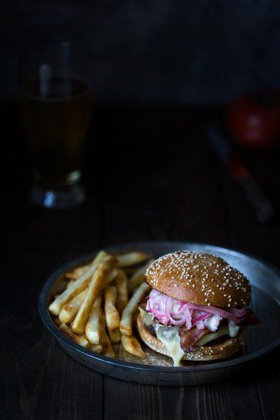 Raclette cheeseburger recipe
