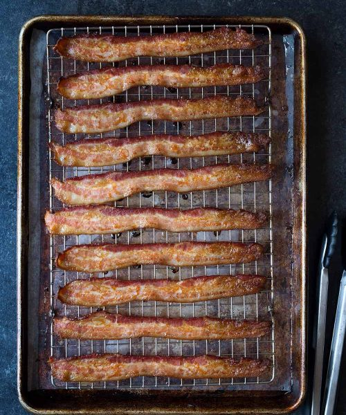 How to cook bacon in the oven!
