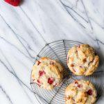 Strawberry Jumbo Muffins