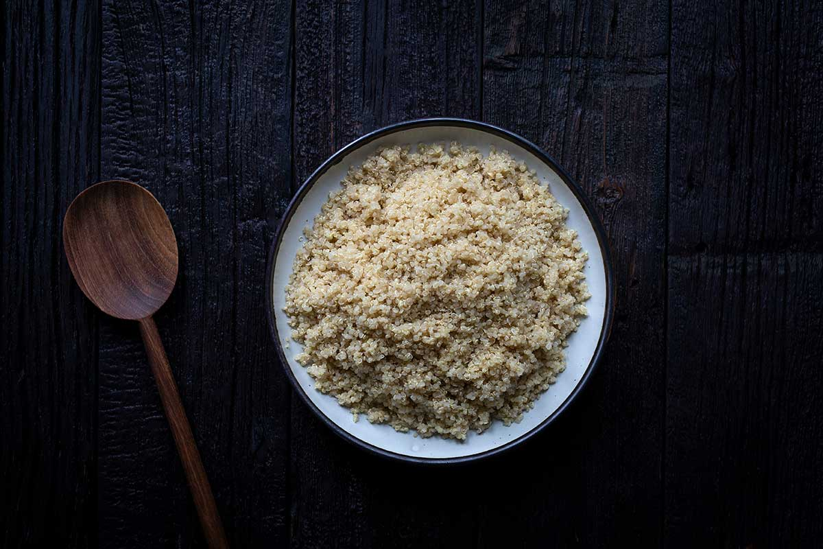 Perfectly cooked quinoa (how to cook quinoa)