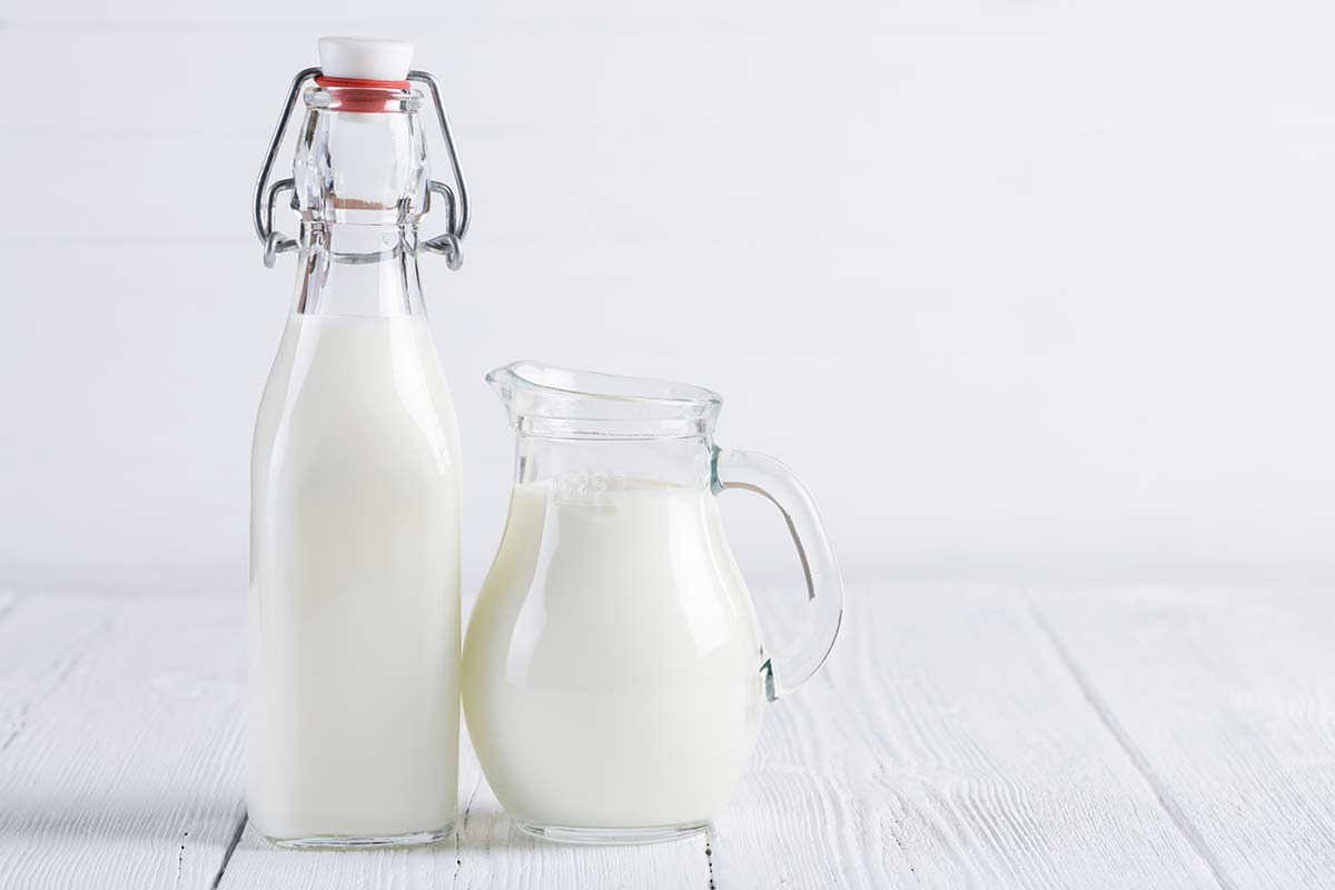 How many cups in a pint - 2 jugs of milk