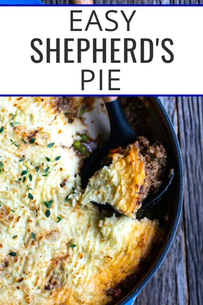 Shepherd's Pie photo with text overlay
