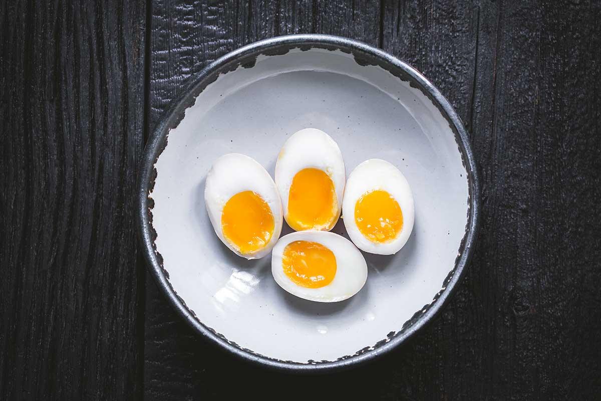 Ramen eggs plain