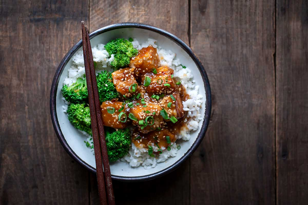 General Tso's Tofu zoomed out