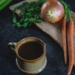Instant Pot Bone Broth Recipe in a mug