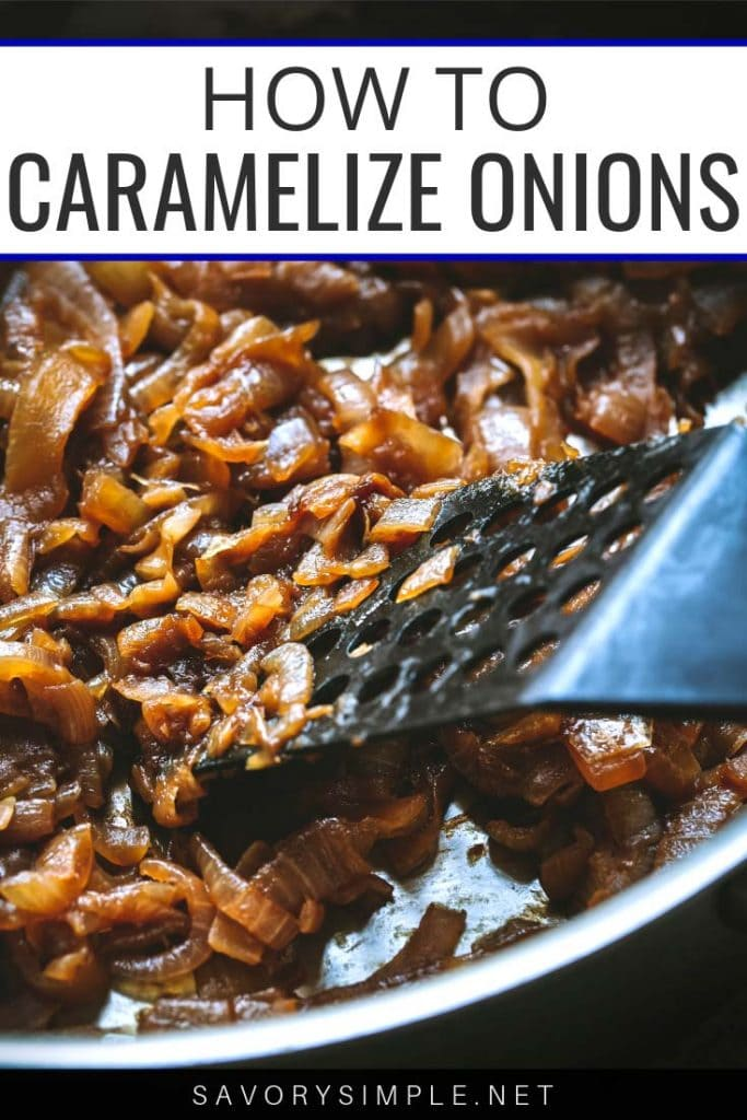 Learn how to caramelize onions with this step-by-step tutorial! Caramelized onions add tons of savory richness to countless recipes.