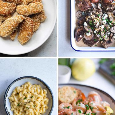 4 recipe photos from the easy dinner recipes roundup