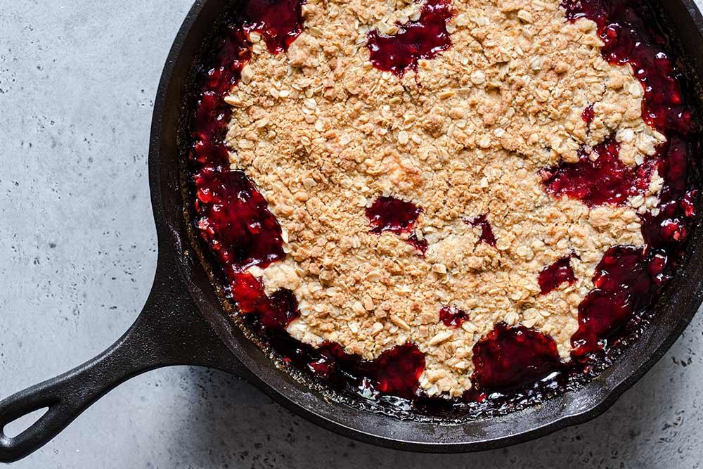Cooked cherry crisp recipe